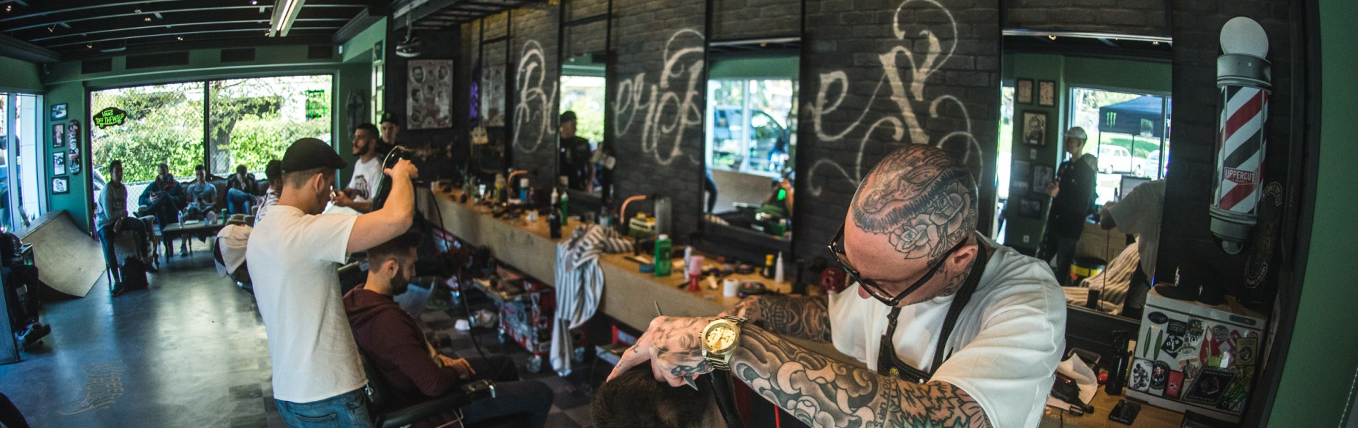 Photos from our scene partner Barber Rules 3 Years Anniversary Party, feat. Paul Hewitt from AONO