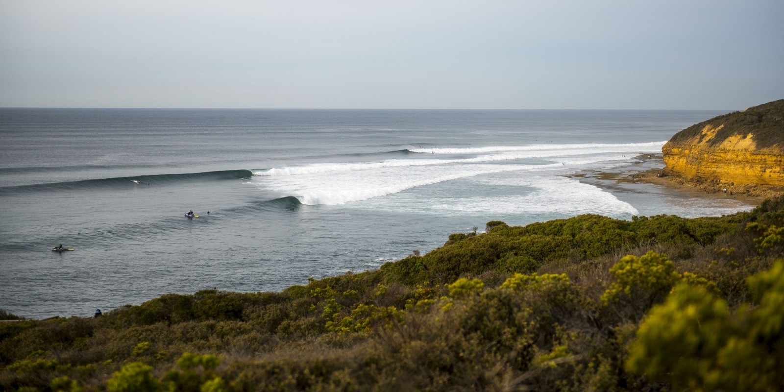 On the southeast corner of Australia, just outside of the sleepy surf town of Torquay, sits Bells Beach, which hosts the third stop of the WSL's championship tour, and acts as a catcher's mitt for Southern Ocean swells.