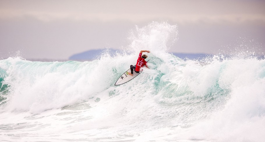 John John Florence on the southeast corner of Australia, just outside of the sleepy surf town of Torquay, sits Bells Beach, which hosts the third stop of the WSL's championship tour, and acts as a catcher's mitt for Southern Ocean swells