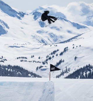 Max Parrot trains with the rest of the Canada Ski & Snowboard team in Whistler, BC on seventh Heaven.
