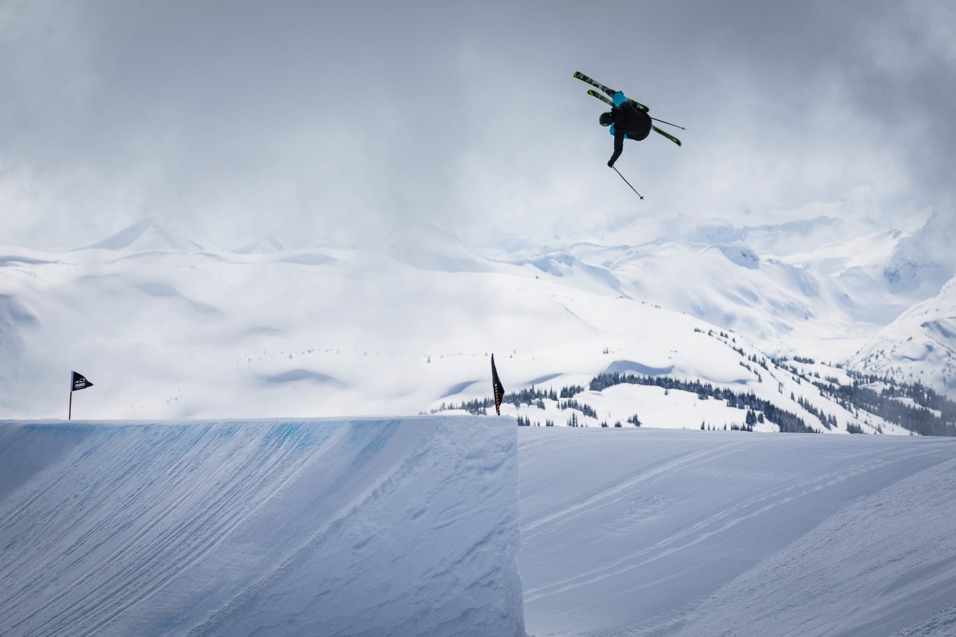 Evan MacEachran trains with the rest of the Canada Ski & Snowboard team in Whistler, BC on seventh Heaven.
