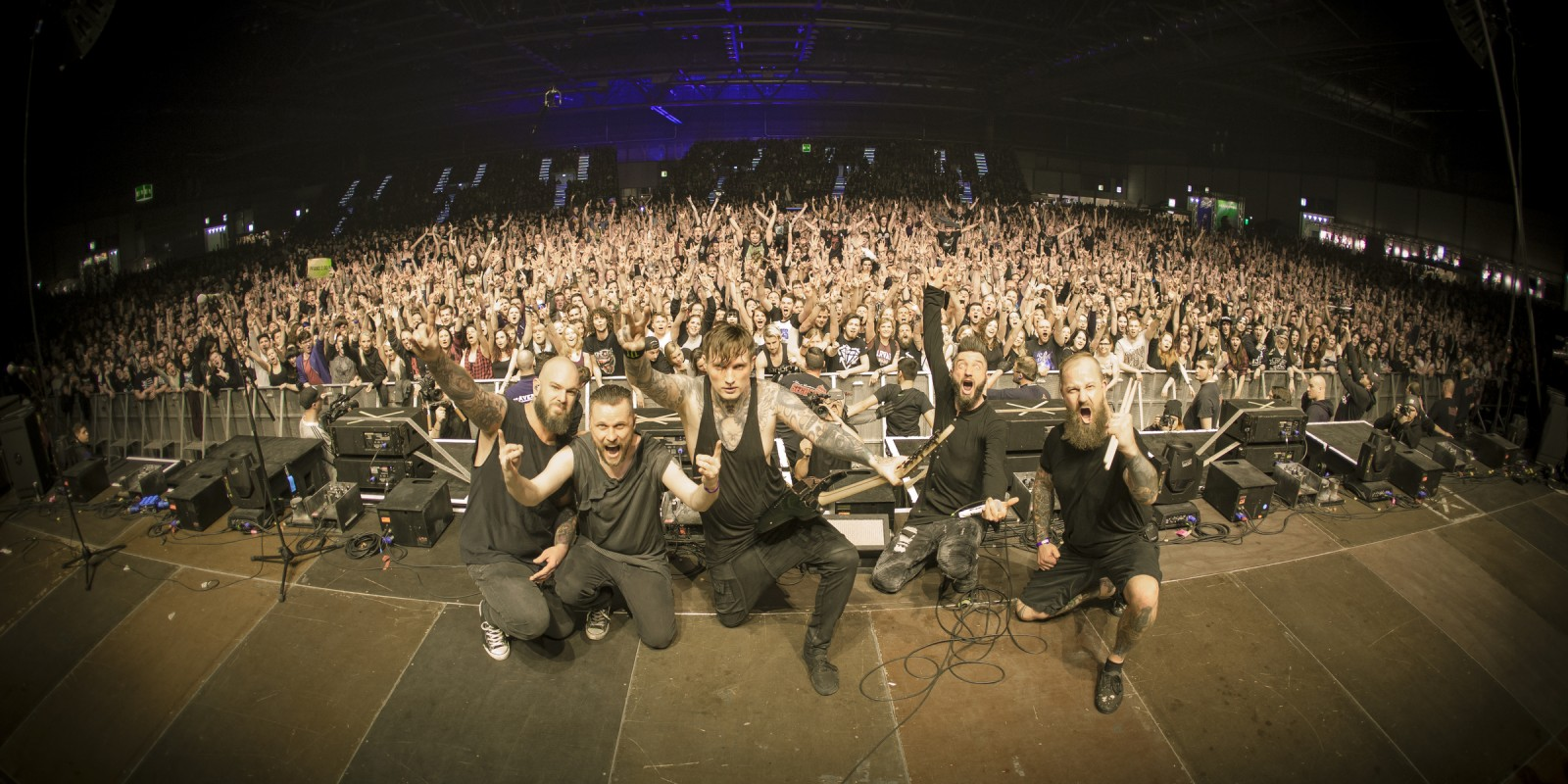 Impericon Festival in Leipzig with ME bands Caliban and Asking Alexandria.