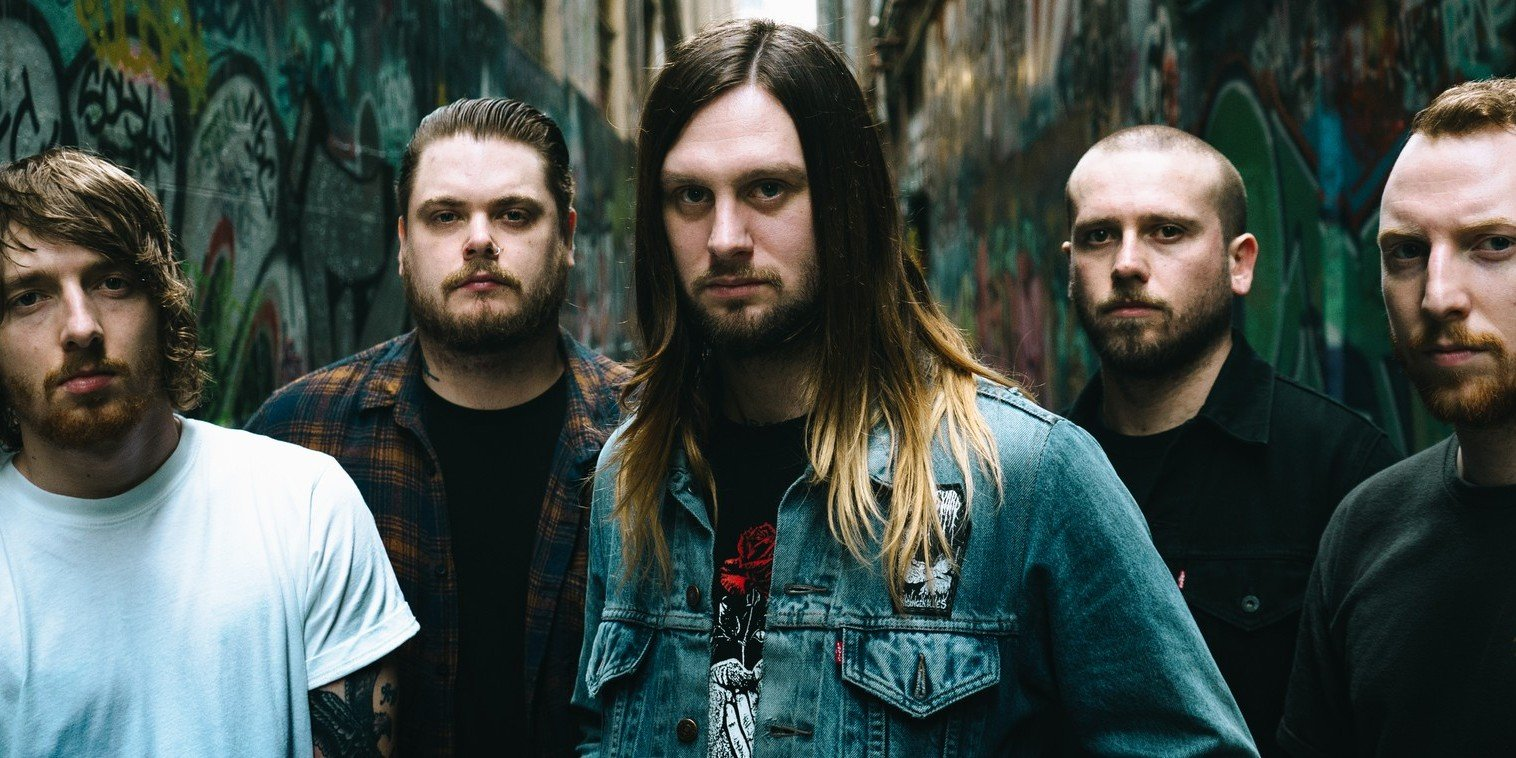 while she sleeps album art for you are we and press photo. To be used only on web and social media.