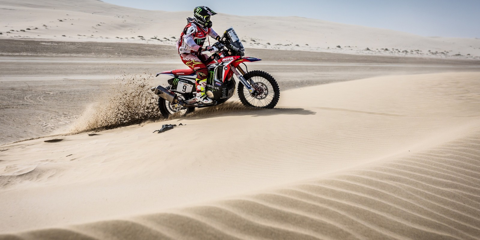 Paulo Goncalves at the Cross-Country Rally of Qatar