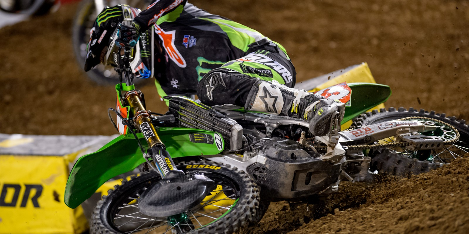 Action shots of MX Championship at Salt Lake City