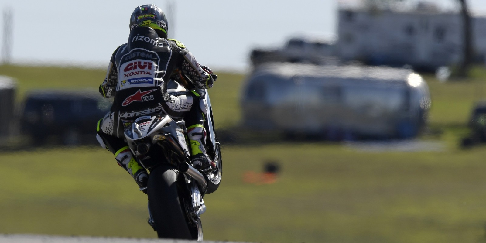 Cal Crutchlow at the 2017 Grand Prix of Americas