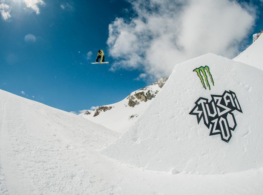 "Simon Gruber at ""Ring the Bell"" Spring Session in Stubai."