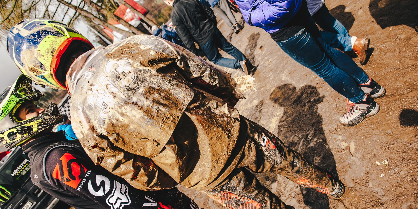 Diverse Downhill Contest 2017 Round 1 held in Wisła, Poland - ambient picture from final day