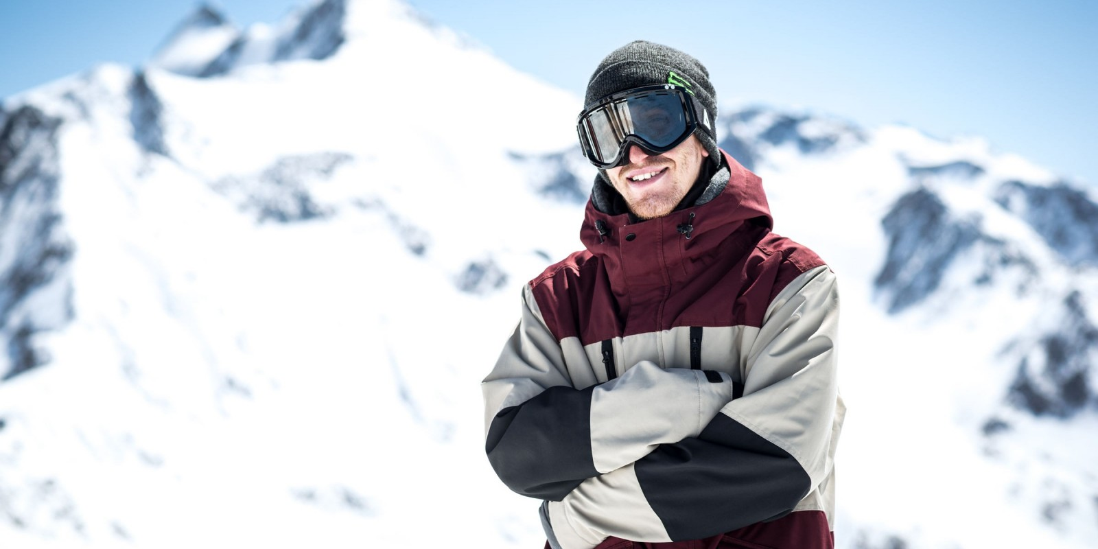 """Ethan Morgan at """"Ring the Bell"""" Spring Session in Stubai."""