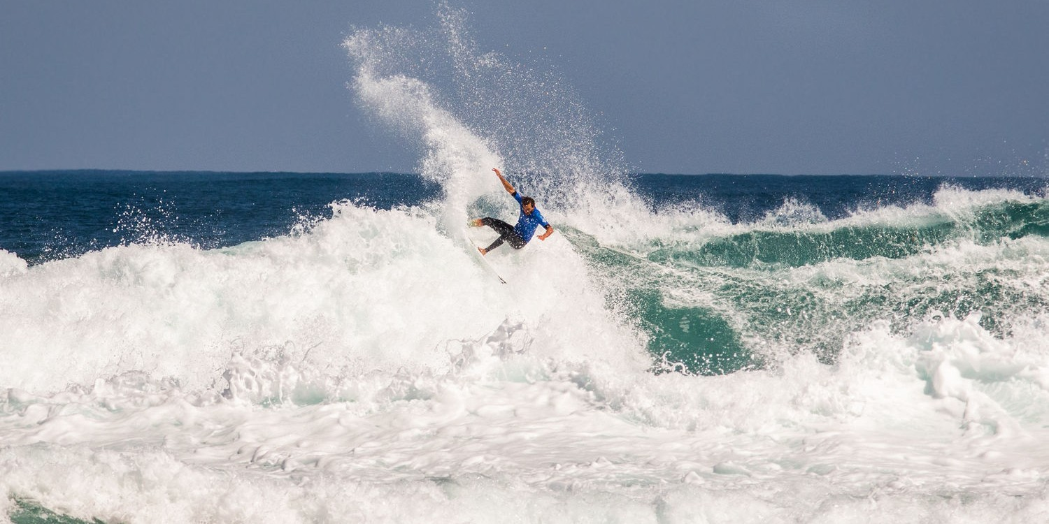 Photos of ME athlete Frederico Morais during the second day of Margaret River event