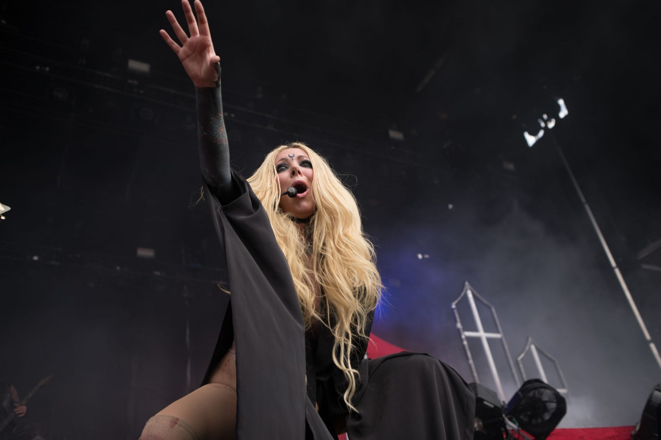 In This Moment performing at Rockville in Jacksonville Florida