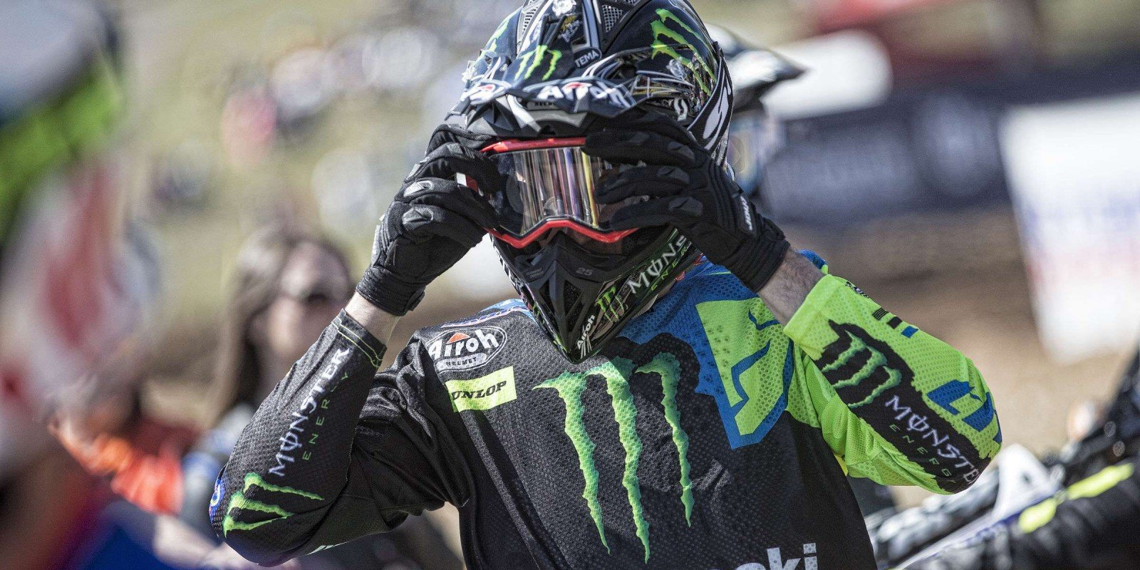Clement Desalle at the 2017 Grand Prix of Latvia