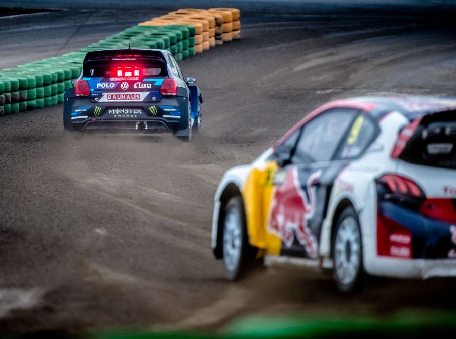 Sunday images from the 2017 World RX of Germany
