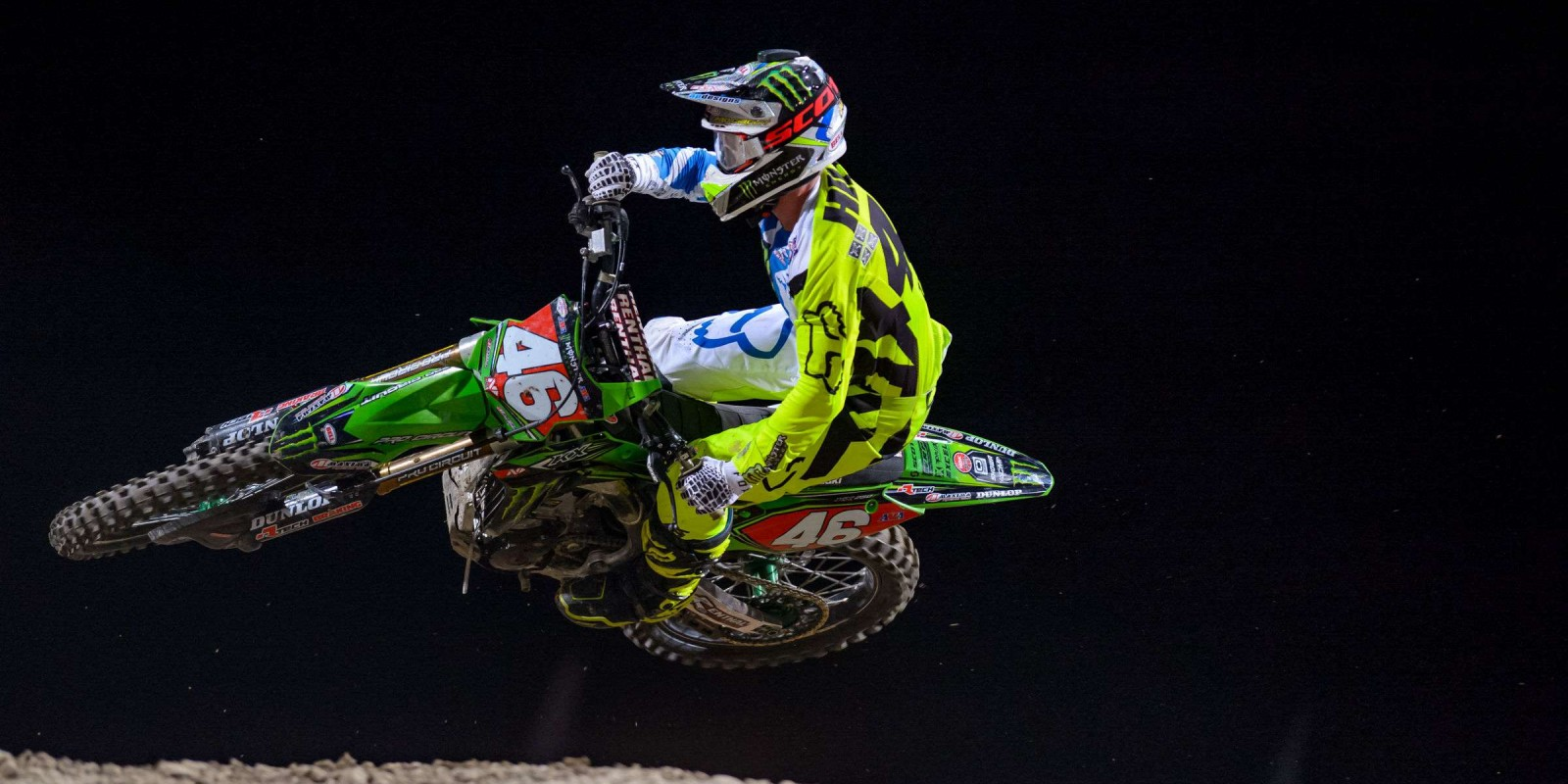 Action shots at the 2017 Las Vegas Supercross Final