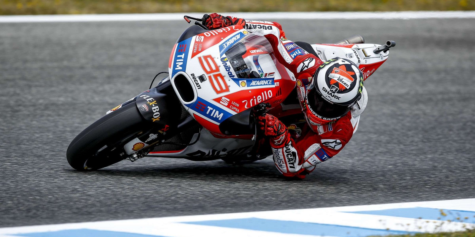 Jorge Lorenzo at the 2017 Grand Prix of Spain
