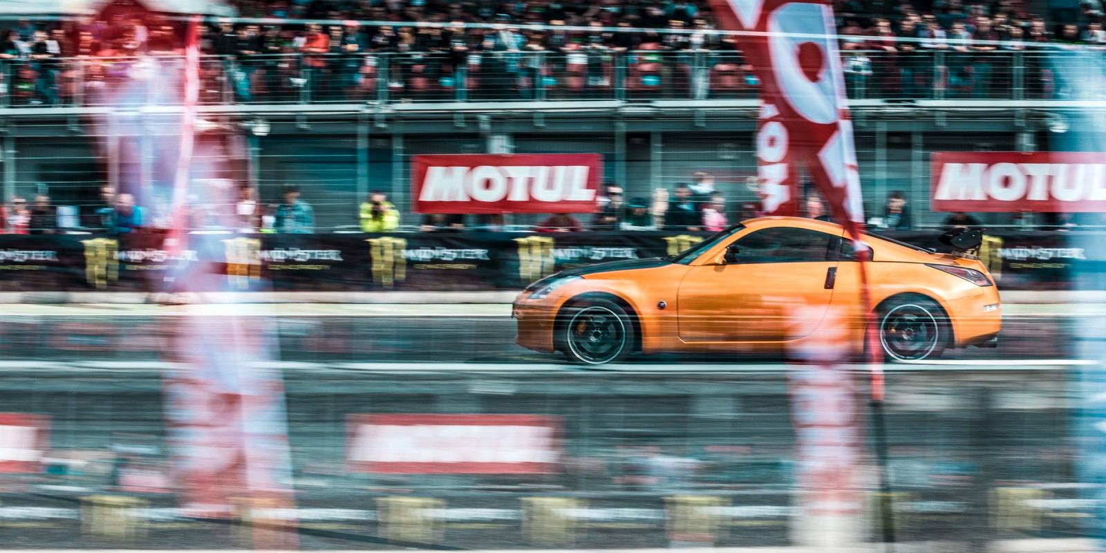 Power Fest 2017. Drag and drift racing event in Slovakia. 2017.