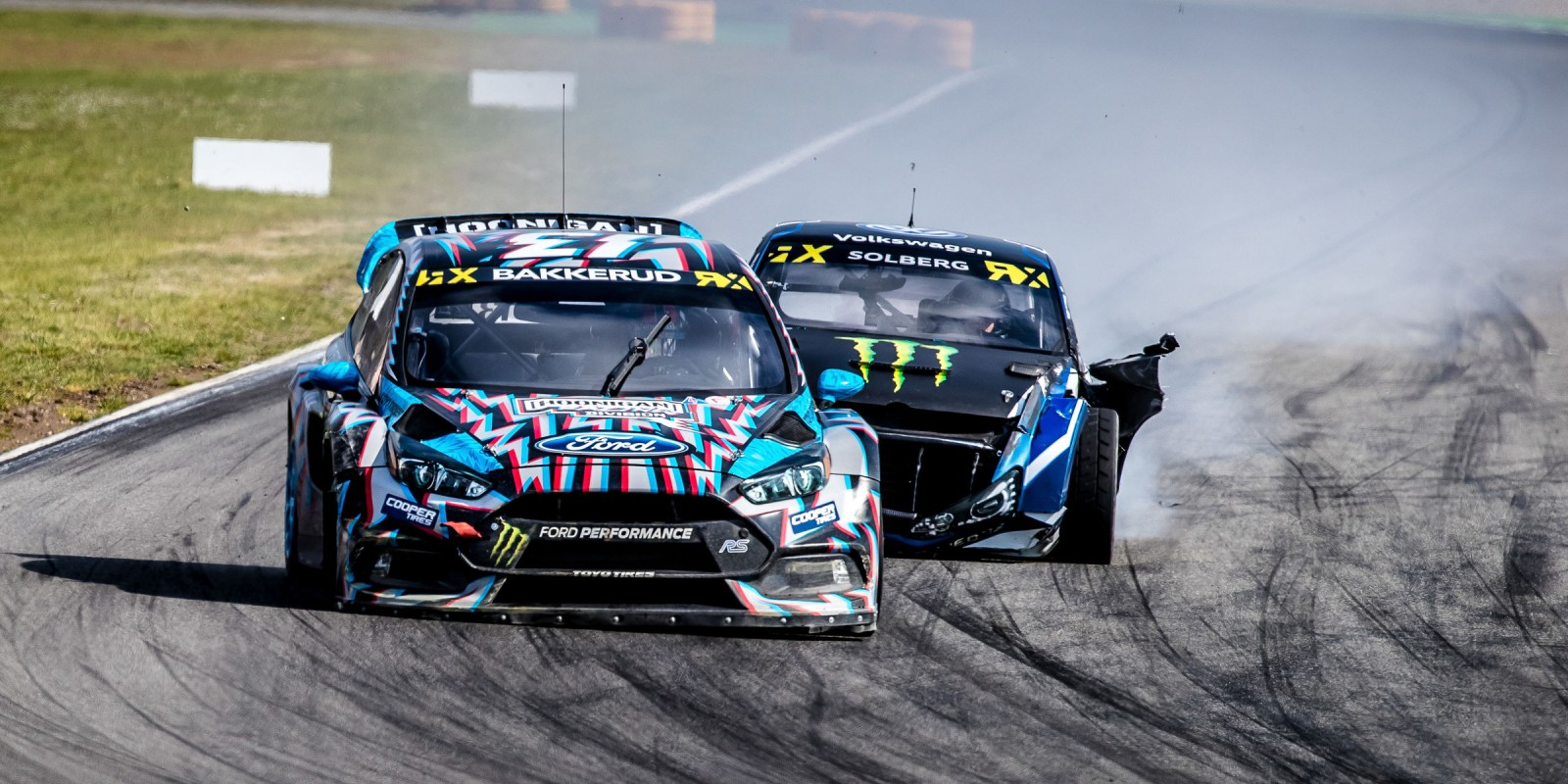 Friday images from the 2017 World RX of Germany at the Hockenheimring