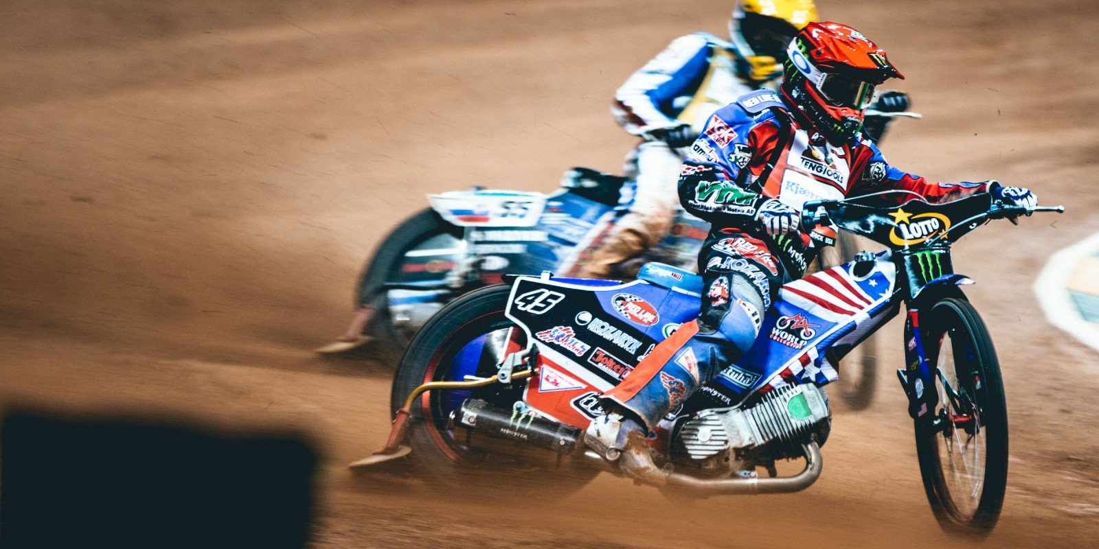 Images of Greg Hancock from the Warsaw SGP