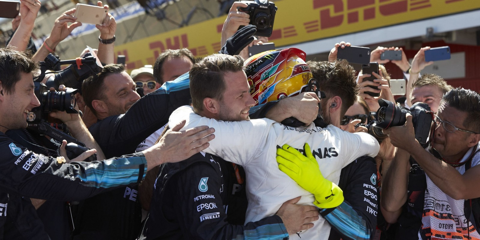 Sunday images from the 2017 Spanish Grand Prix