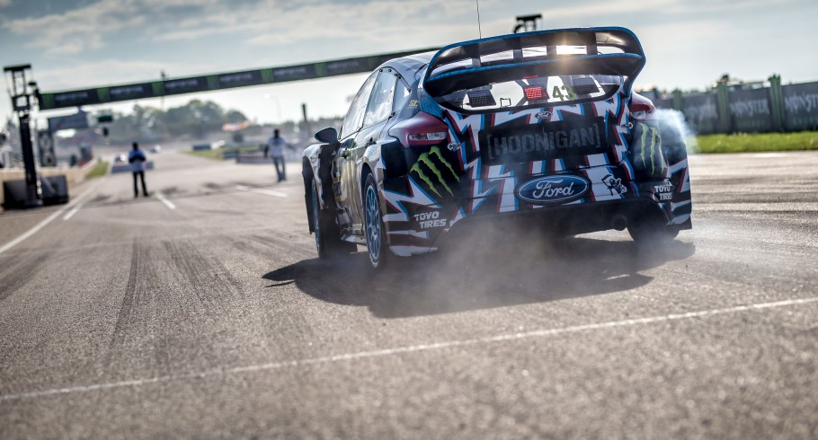 Sunday images from the 2017 World RX of Belgium