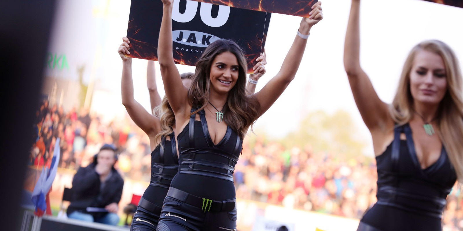 2017 Monster Girls Attending the Speedway GP at Slovenia