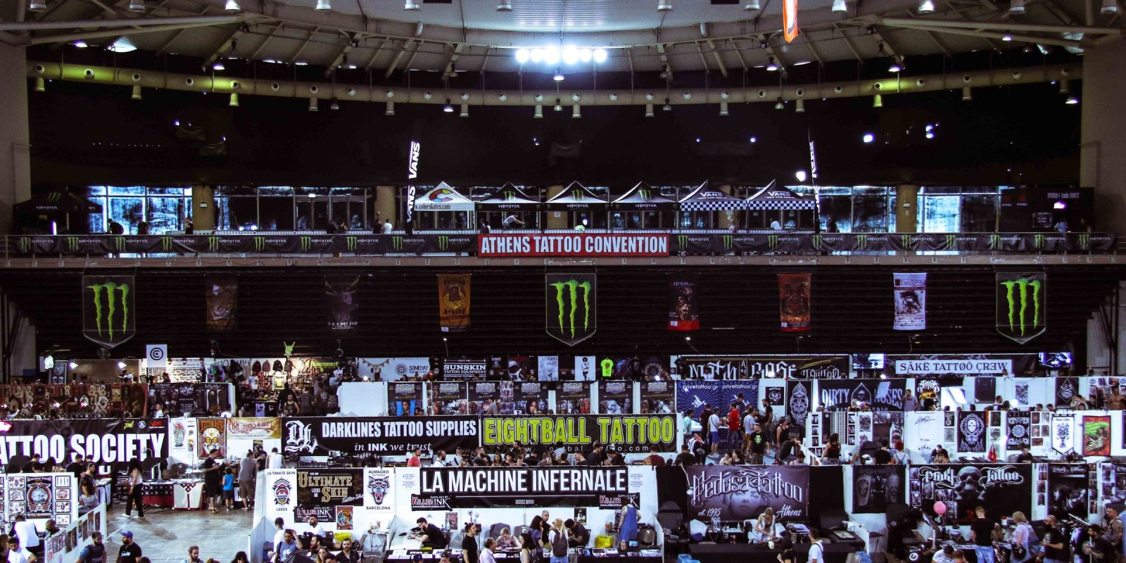 Photos from 11th Athens International Tattoo Convention fuelled by Monster Energy.