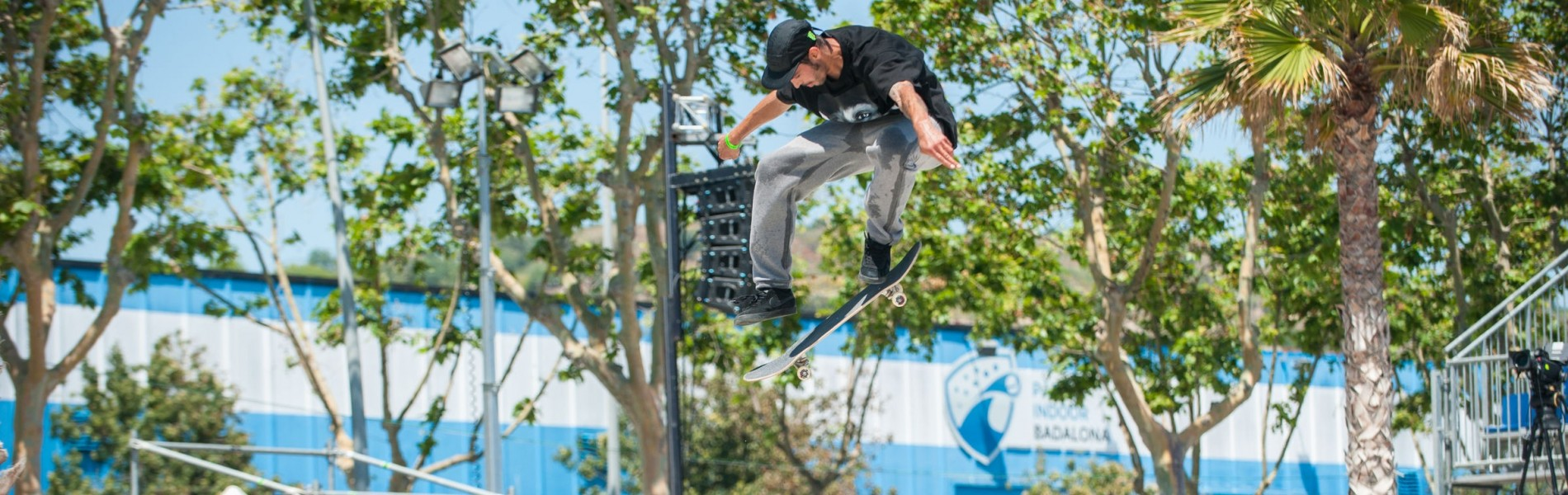 Images from the Street League Series Practice in Barcelona, Spain
