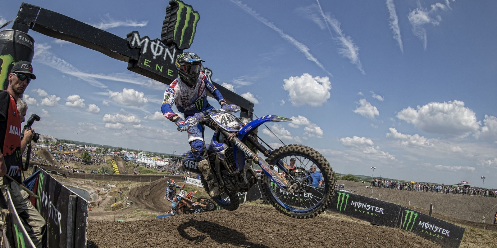 Romain Febvre at the 2017 Grand Prix of Germany