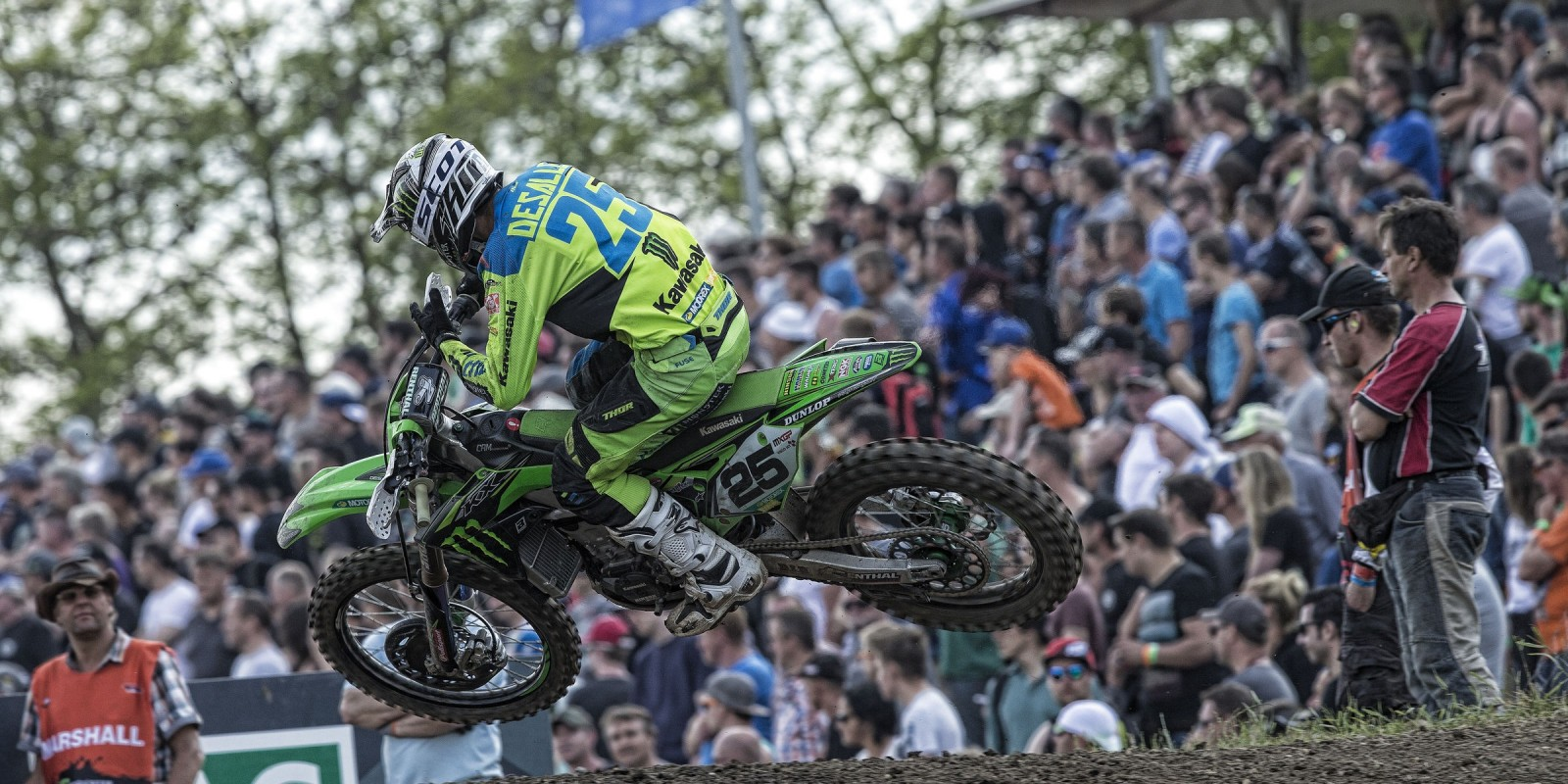 Clement Desalle at the 2017 Grand Prix of Germany