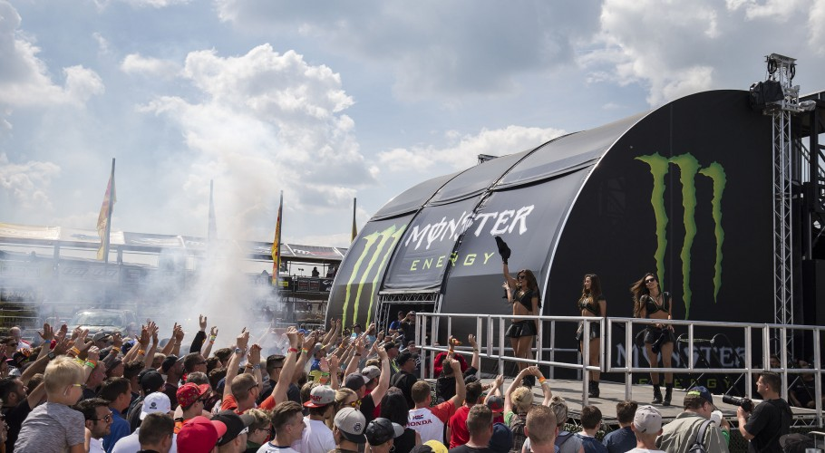 Monster Energy girls from the 2017 Grand Prix of Germany