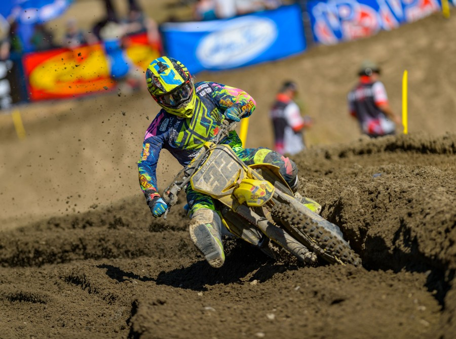 Monster athletes compete at the 2017 MX Hangtown race in Rancho Cordova, CA