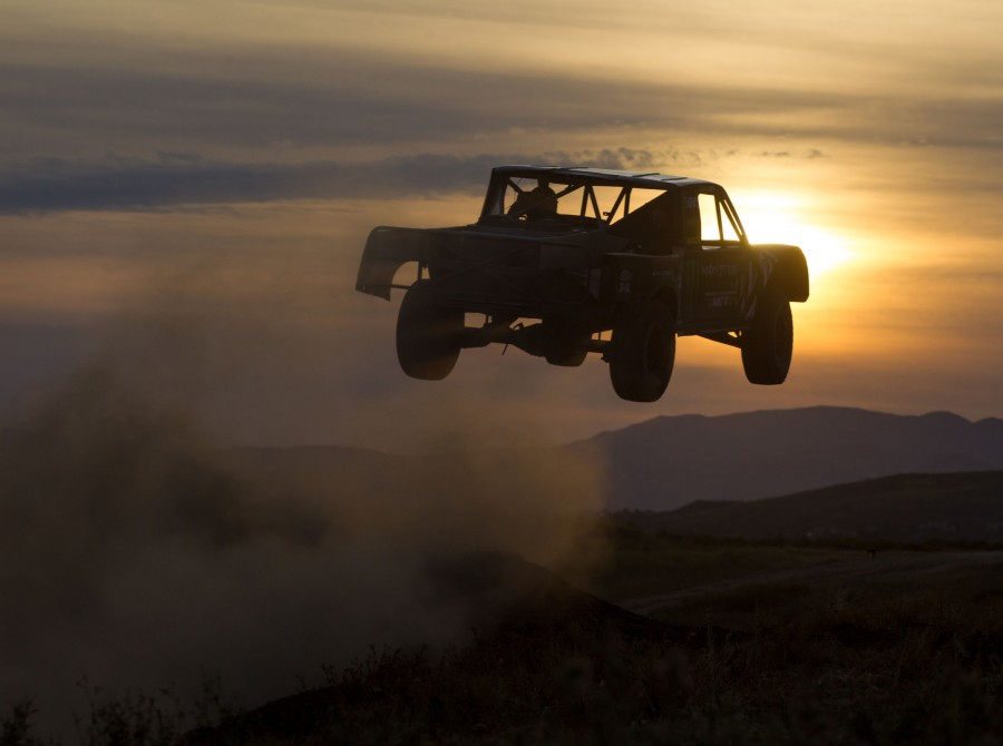 Images from the set of Brian Deegan's Yard Work project