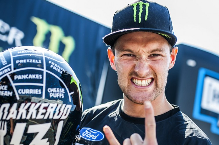Andreas Bakkerud at World Rally Cross