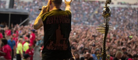 Five Finger Death Punch at the 2016 Chicago Open Air Event at Toyota Park in Chicago, IL