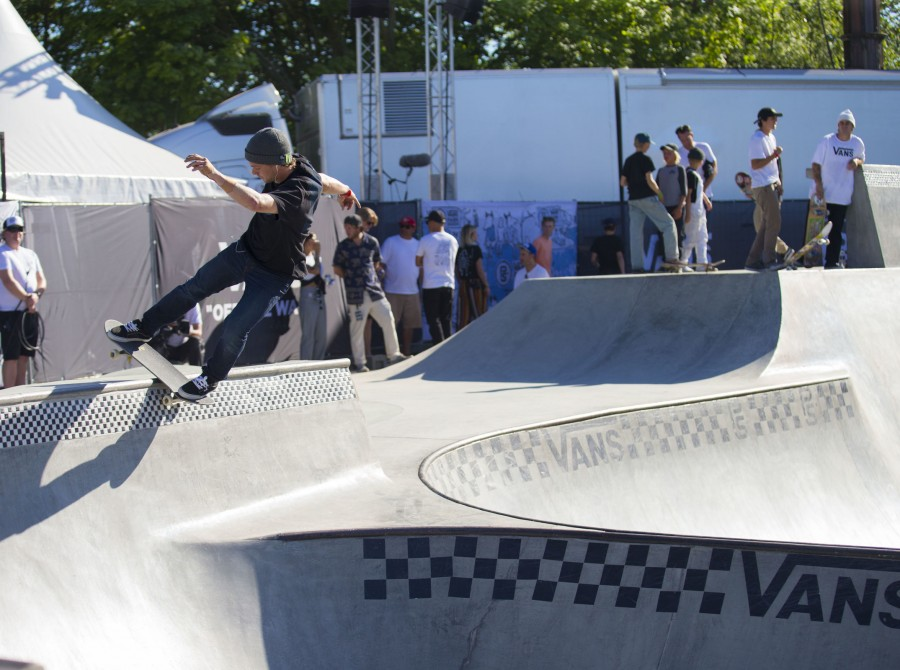 Action shots of our Monster athletes at the Vans Park Series in Malmo