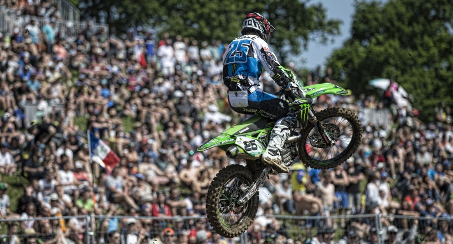 Clement Desalle at the 2017 Grand Prix of France