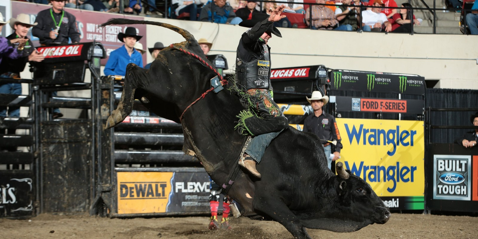 Monster athletes at the 2017 Built Ford Tough Series in Billings, Montana