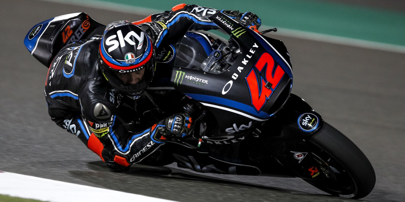 Francesco Bagnaia at the 2017 Grand Prix of Qatar