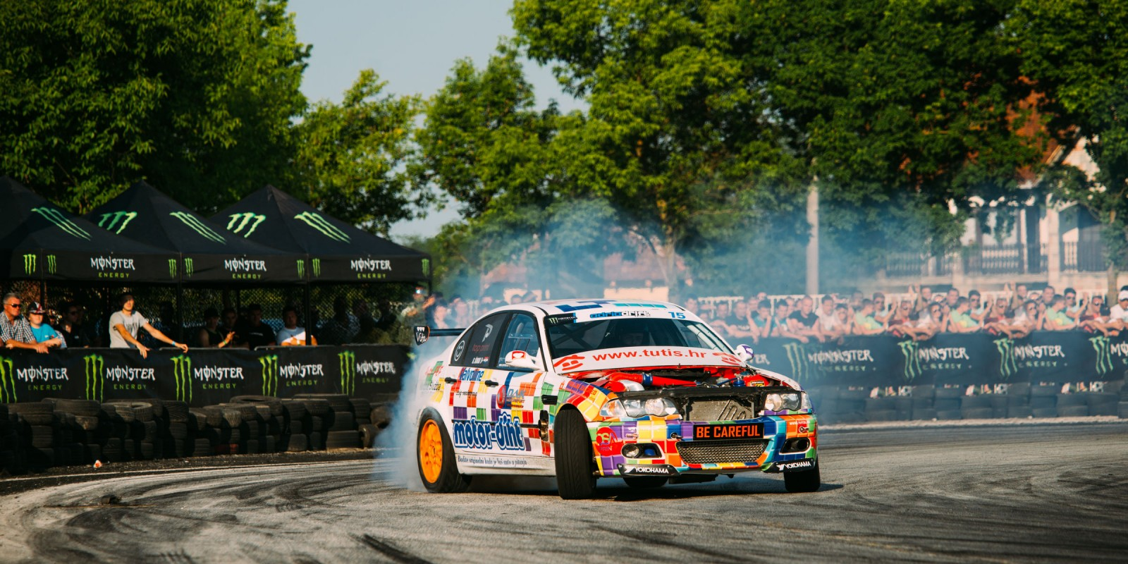 Monster Energy at the Adria Drift Series in Cacak, Serbia