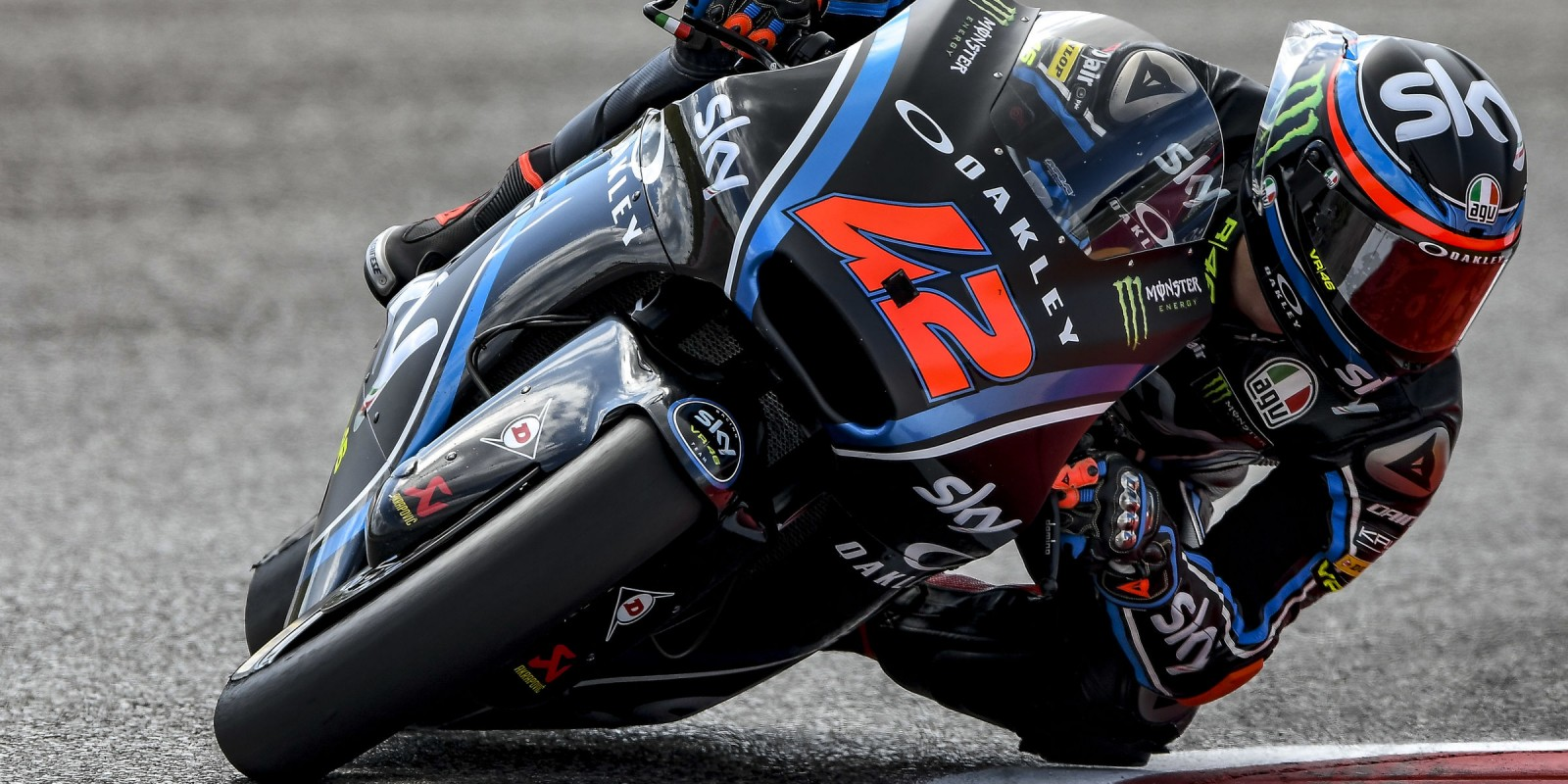 Francesco Bagnaia at the 2017 Grand Prix of Americas
