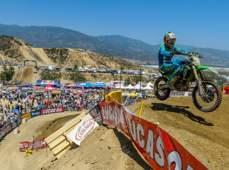 Action shots of our Monster athletes at Glen Helen Raceway in California