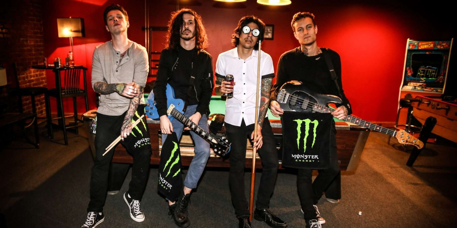 crown the empire monster energy promo photo