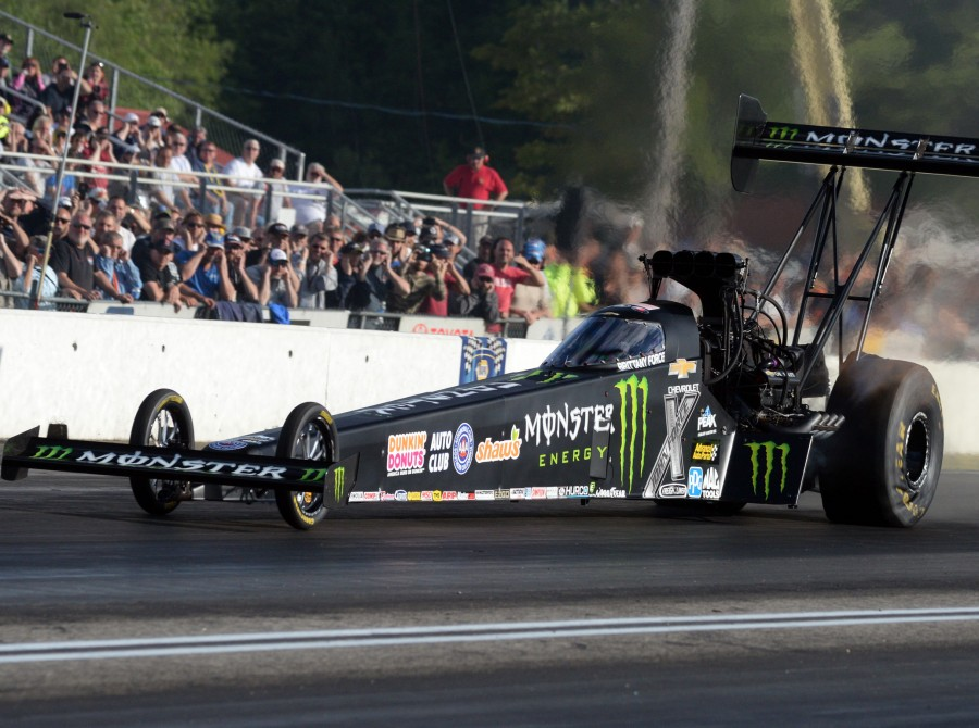 Brittany Force Competes in the 2017 NHRA New England Nationals