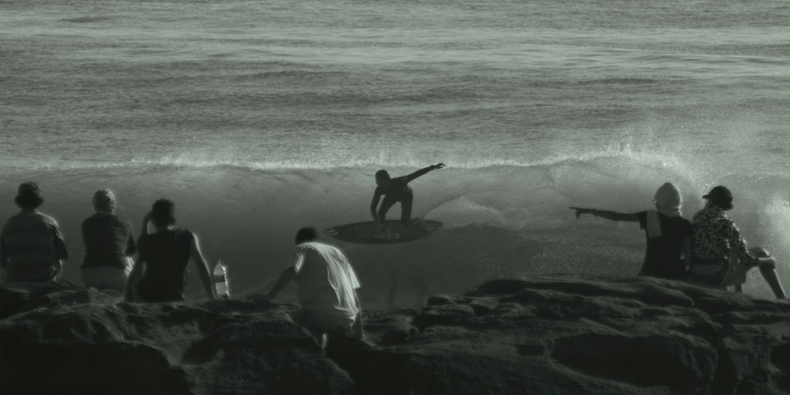 Action photos of Monster Energy Surf athlete William Aliotti in Morocco