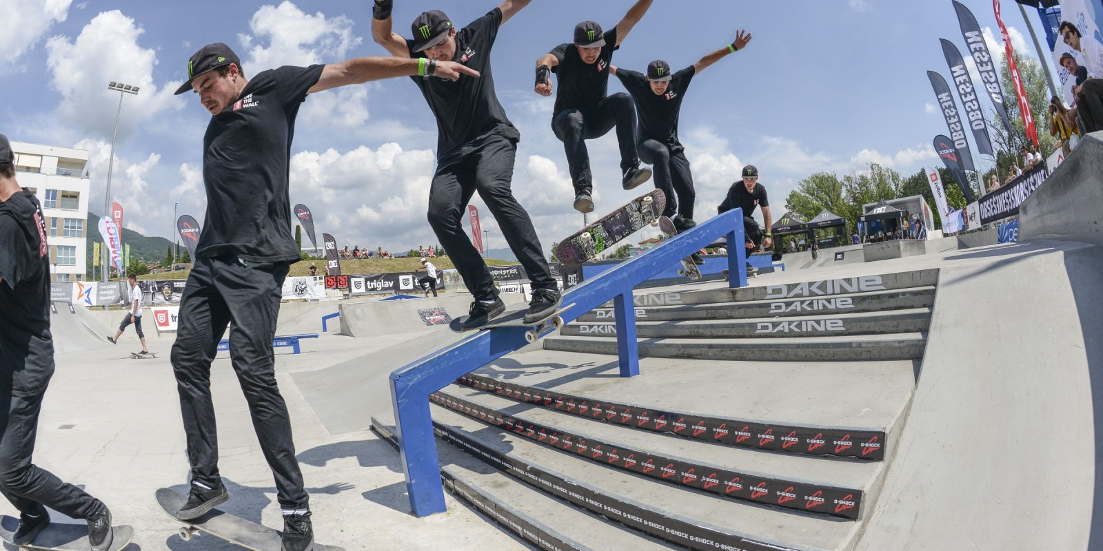 2017 FLOWGRIND Skate Contest, Slovenia, International countries with riders from 13 countries.