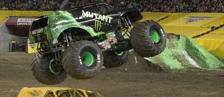 Damon Bradshaw in the Mutant Monster Truck