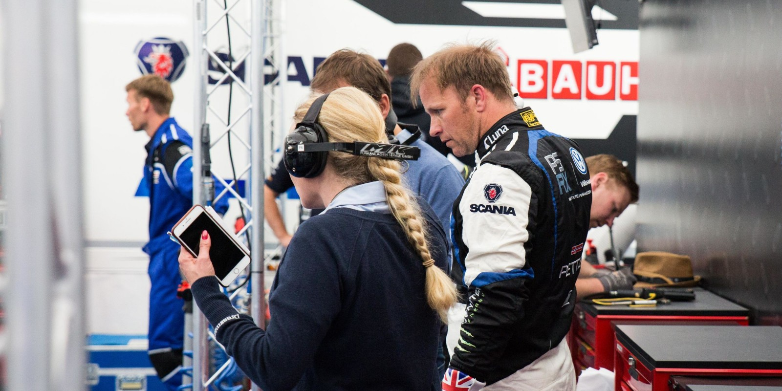 Petter Solberg at Lydden RX