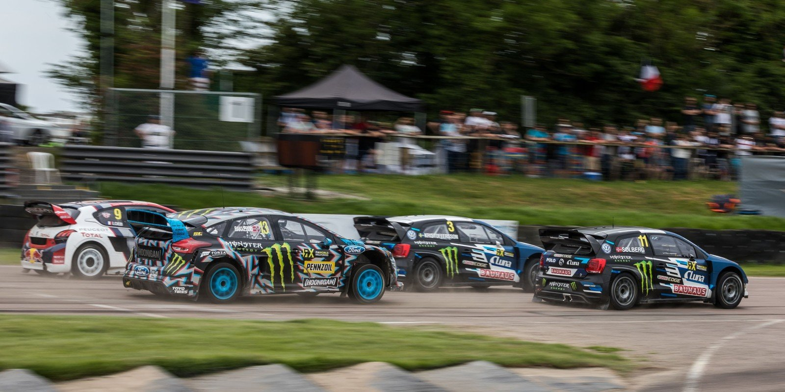 Sunday images from the 2017 World RX of Great Britain