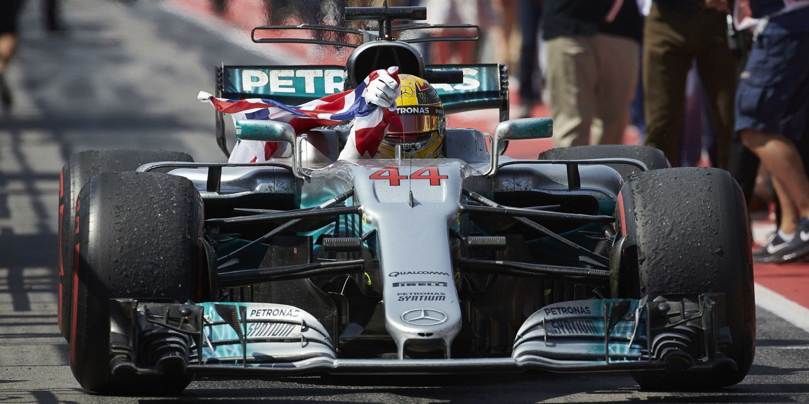 Sunday images from the 2017 Canadian Grand Prix