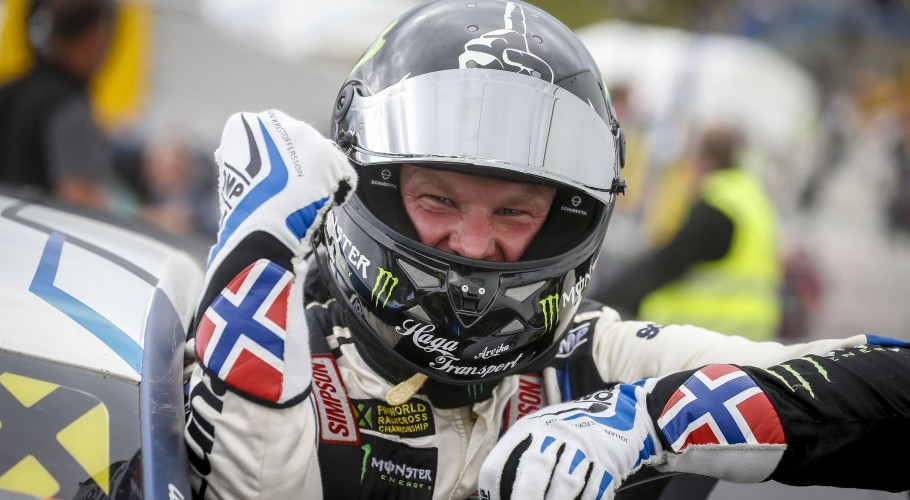 Sunday images from the 2017 World RX of Norway